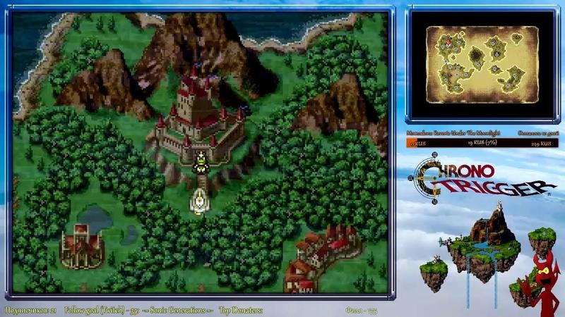 Chrono Trigger DS с самого начала полное прохождение - часть 9 (en/ru)