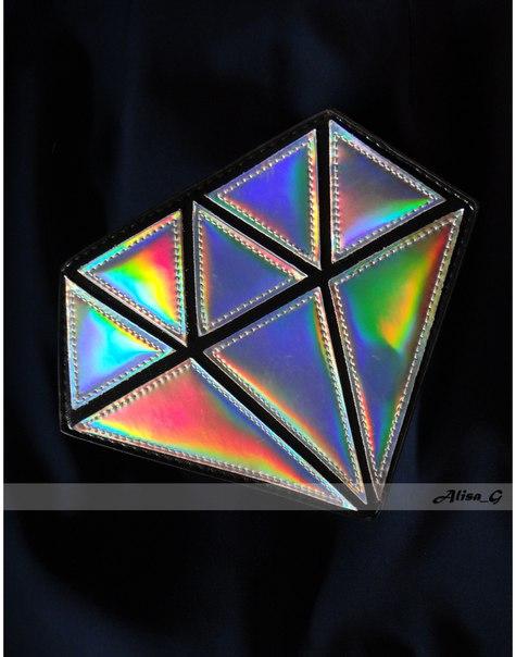 Ослепительная сумка - клатч Бриллиант