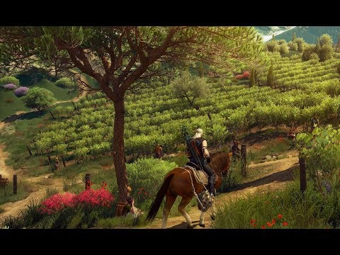The Witcher 3: Blood and Wine: Туссент - край рыцарей клянущихся птицам.