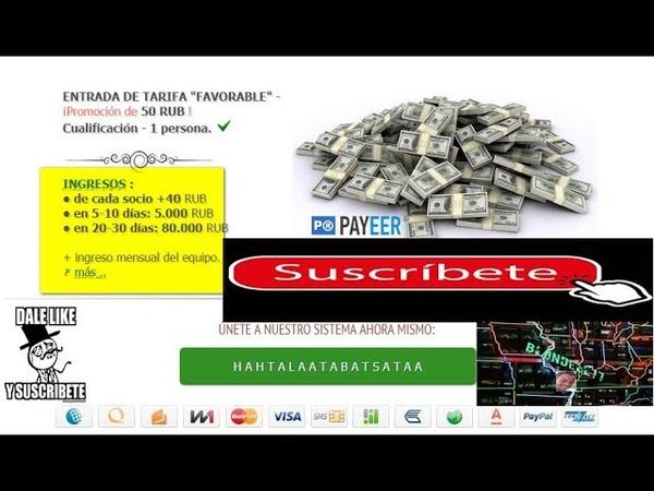 100000 RUBLOS DE INGRESO COM súper cash