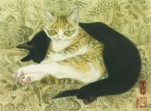 Масааки Сасамото  современный самобытный художник из Японии