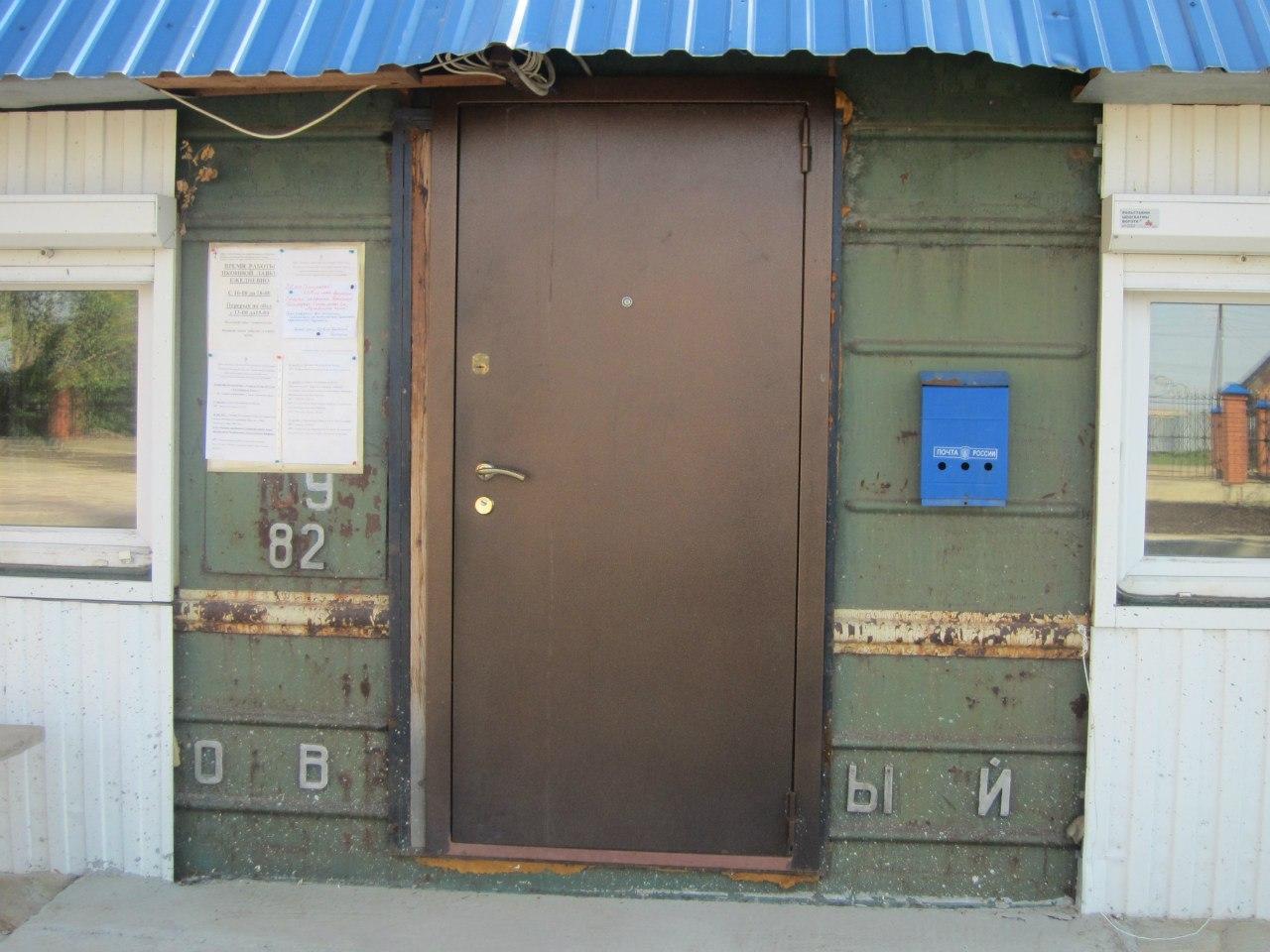 Вот такая дверь в часовню (03.07.2014)