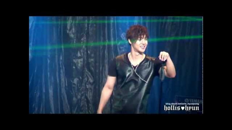 121004 Kim Hyun Joong 김현중 - HEAT (Rock ver.) @ Budokan