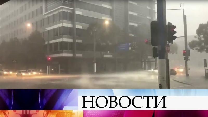 Мощь природной стихии в полной мере испытал на себе Сидней.