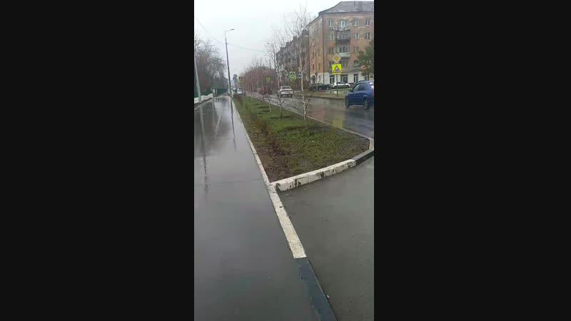 Дождливый Омск ❤️