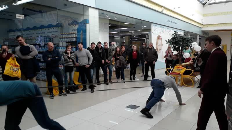 Открытие Weider СПОРТпит в ТРЦ ИЮНЬ г Череповец ул Годовикова 37 3 этаж