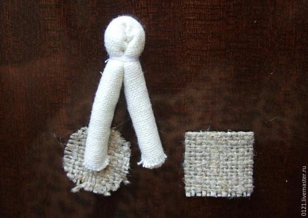 Создаем куколку «На счастье» в традиционной текстильной народной технике.