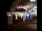 Парк победы, ДК украсили к 60-летию города. [Full HD 1080]