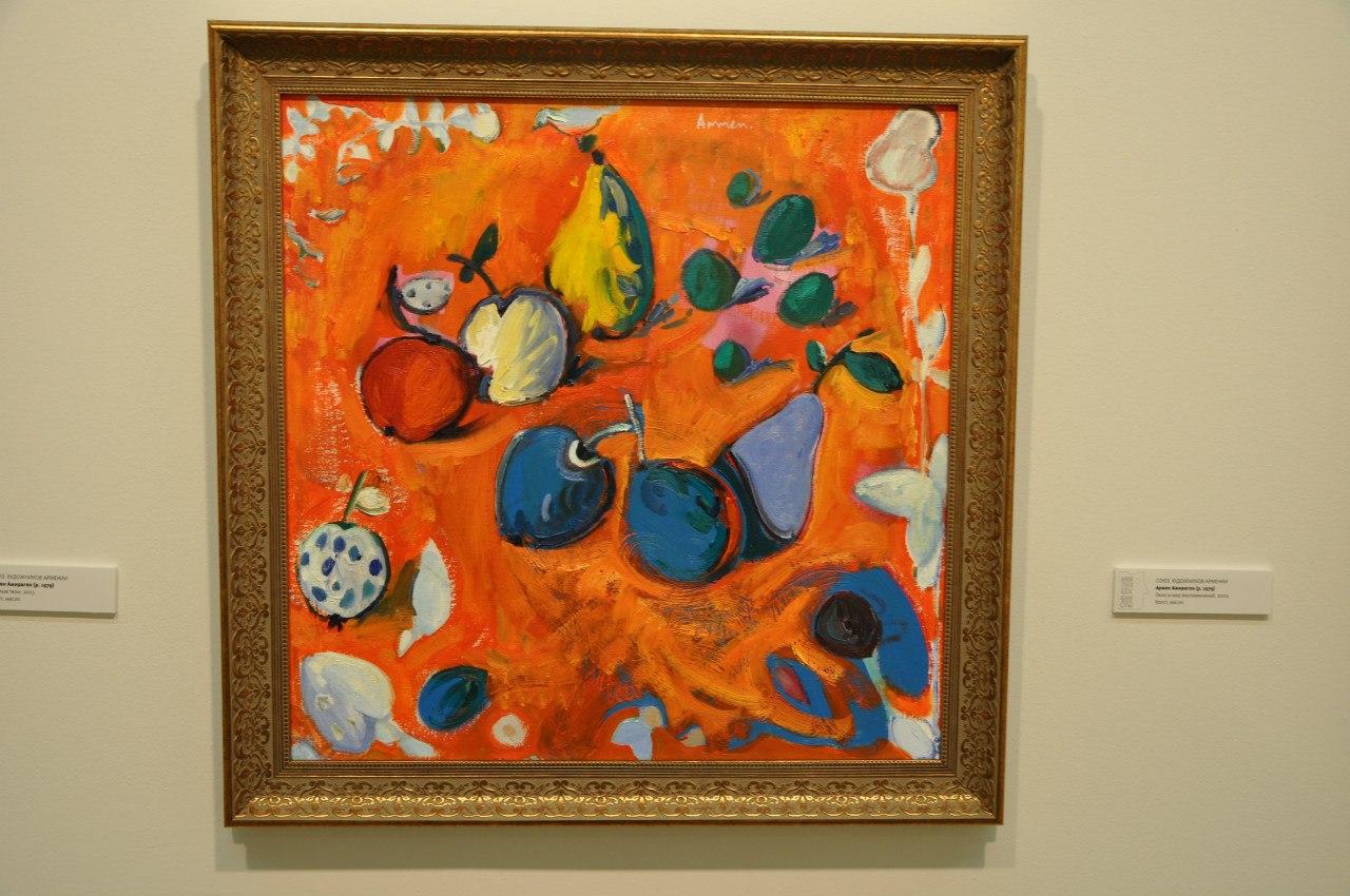 Союз художников Армении  Армен Амирагян (р. 1979)  Окно в мир воспоминаний. 2002  Холст, масло