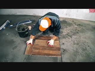 Плитка на пол - Мастер Класс _ История строителя - Гоша сможет 6 _ Приколы ремонта