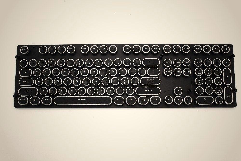 Клавиатура в ретро стиле -