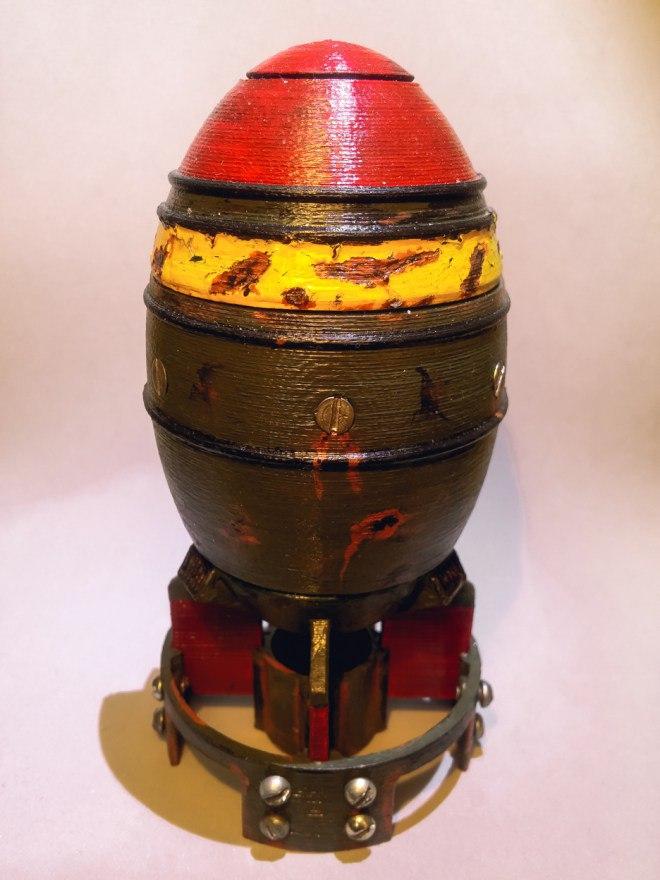 Ядерный мини заряд на 3D принтере