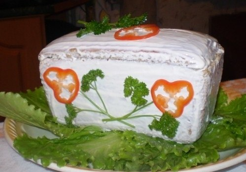 Рецепт: Салат Сундучок с сокровищами