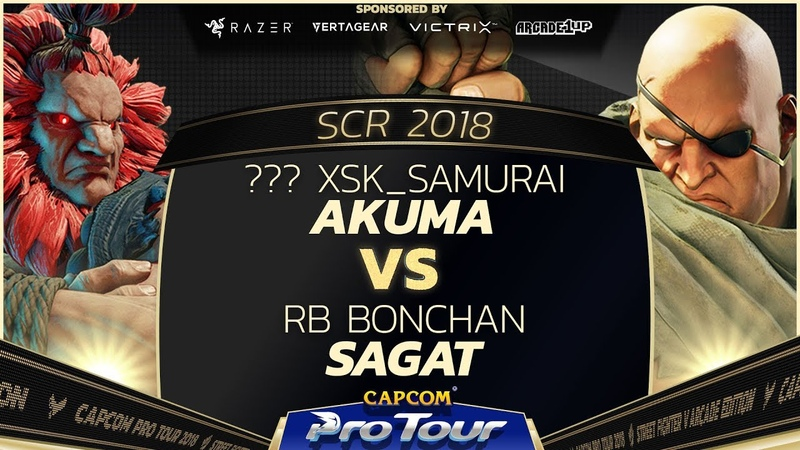 XsK Samurai Akuma vs RB Bonchan Sagat SCR 2018 Top 8 CPT 2018