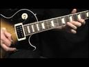 Gary Moore - Parisienne Walkways Improvisation Video - Les Paul - Dave Buckley