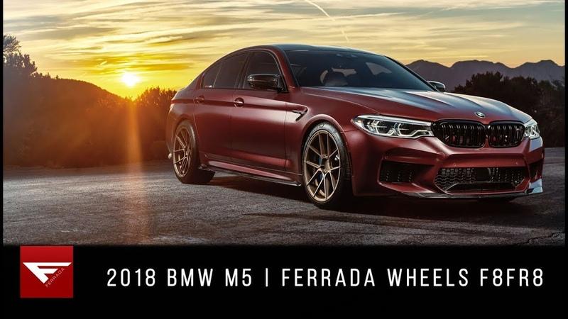 2018 BMW F90 M5 | Burnout for Days! | Ferrada Wheels F8FR8