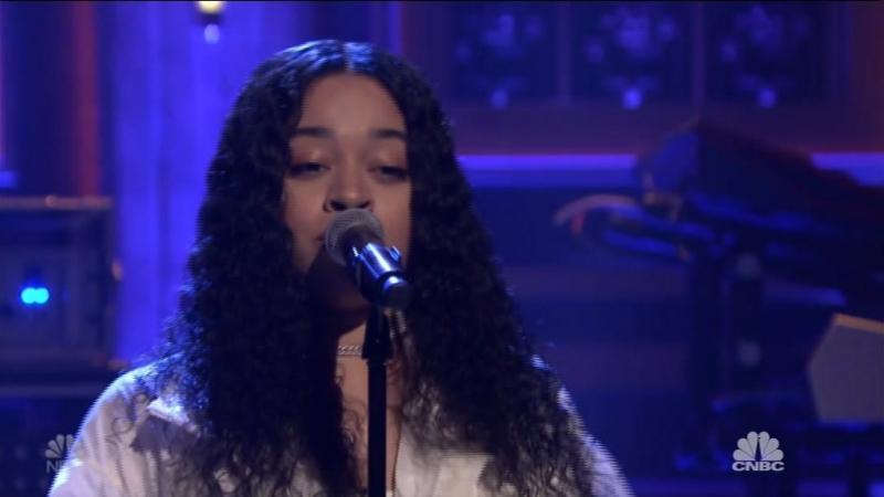 Ella Mai - Trip (The Tonight Show Starring Jimmy Fallon - 2018-10-10)