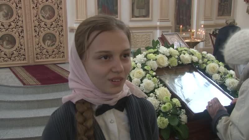 Репортаж телестудии Дон Православный о Престольном дне храма