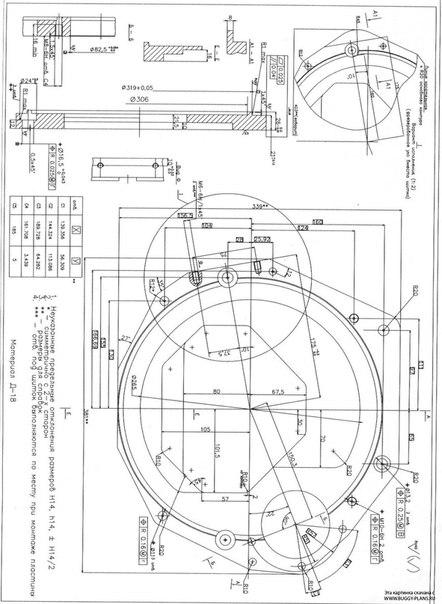 размеры и схема кузова