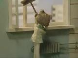 Когда друг живет по соседству #мультфильм #домовёнок_кузя #музыка #батарея #музло #прикол #coub