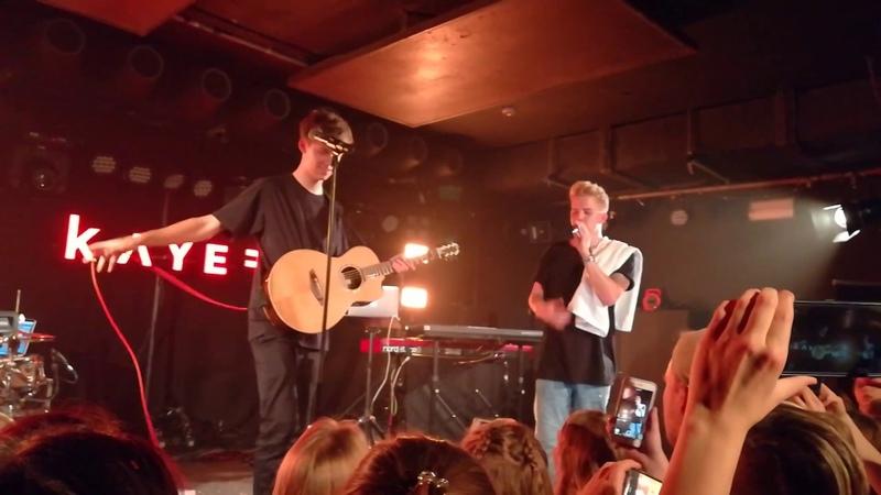 Jannik Brunke feat. Kayef - Wenn es so einfach wäre (Live) Modus Tour - 12.10.2018 (Berlin) 🎶
