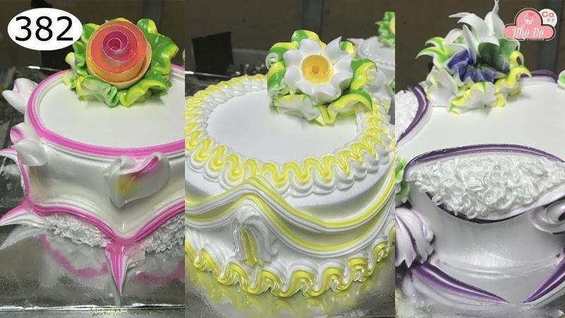 Chocolate cake decorating bettercreme vanilla 382 Học Làm Bánh Kem Đơn Giản Đẹp Tỏng hợp 382
