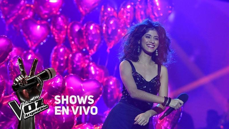 Shows en vivo TeamTini Juliana canta Amor prohibido de Selena - La Voz Argentina 2018