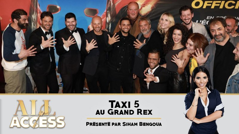 TAXI 5 avant-première au Grand Rex - All Access{OKLM TV}