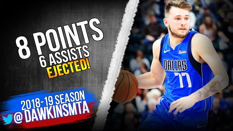Luka Doncic Full Highlights 2019.01.18 Suns vs Hornets - 8 Pts, 6 Asts, EJECTED! | FreeDawkins