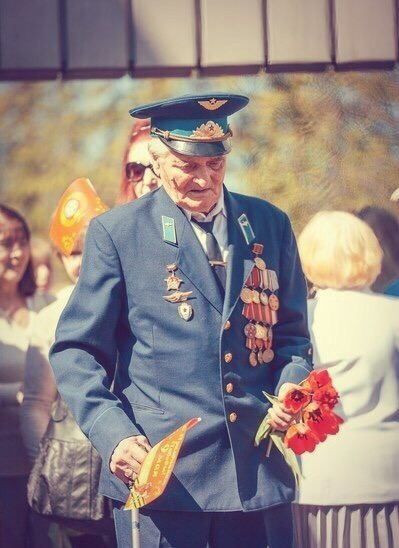 Ветераны ВОВ заслуживают миллион лайков!
