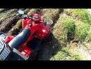 Покатушка на квадроцикле Stels 110 d \дрифт, стант и море приключений
