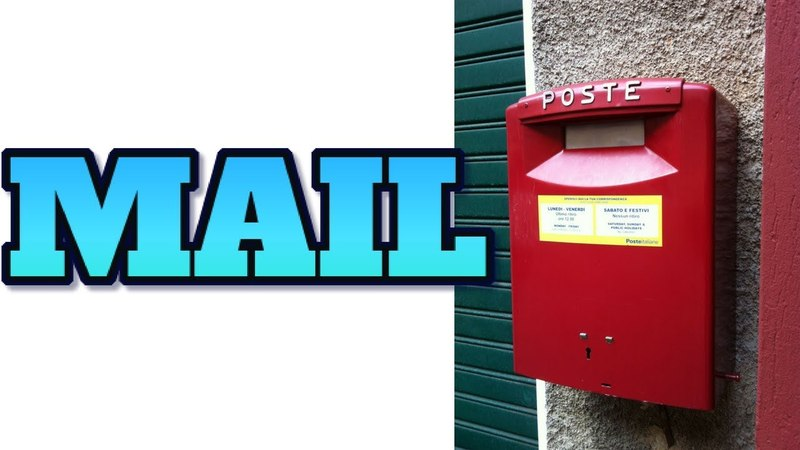 [Technology 71] MAIL - A BRIEF HISTORY AND HOW IT WORKS