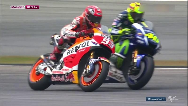Valentino Rossi vs Marc Marquez Sepang 2015 *FULL BATTLE HD* MOTO GP