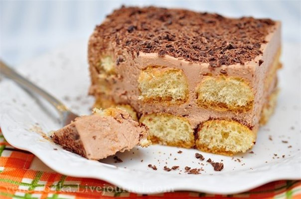Шоколадный торт тирамису рецепт
