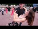 Танцы на набережной - Парк Горького - Москва - Румба 07.07.18