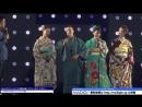 Hayato Ichihara and Akari Hayami wear Japanese style costumes