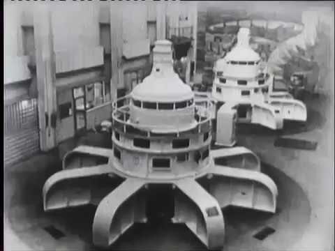 Промышленное получение электрической энергии переменного тока Киевнаучфильм 1988