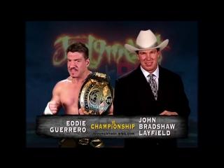 (WWE Mania) Judgment Day 2004  Eddie Guerrero(c) vs. JBL -- WWE Championship