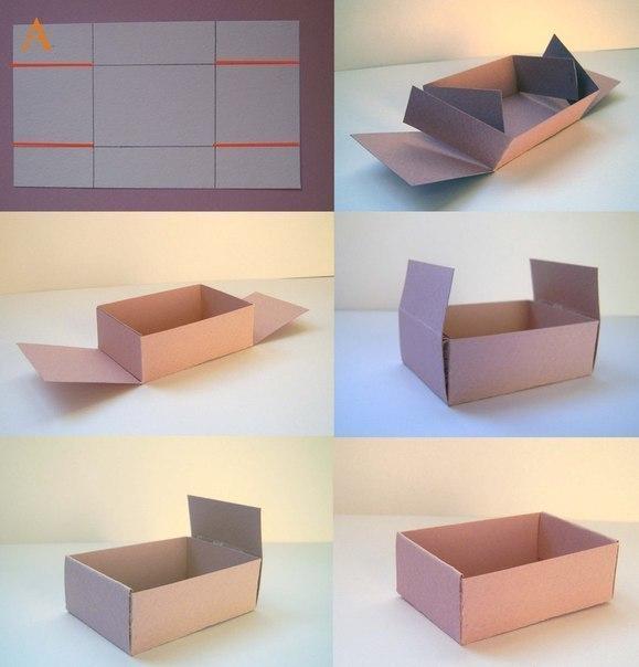 Коробочка своими руками за пару минут (1 фото) - картинка