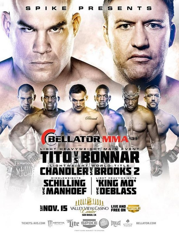 Bellator 131 постер