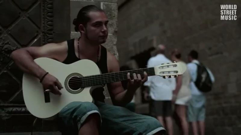 БОЖЕСТВЕННО 😍😍😍 ⚜️Street Acoustic Guitar in Barcelona, Spain: Pharaon (Spanish Guitar, Flamenco)⚜️