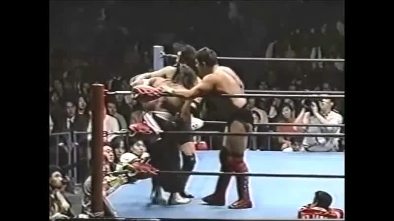 1996.12.06 - SabuGiant Kimala II vs. Yoshinari OgawaMaunakea Mossman [JIP]