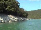 lac de vouglans jura franche-comté france