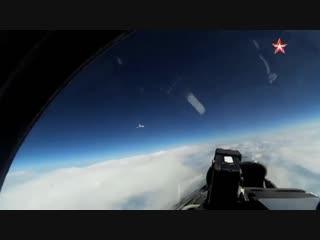 Су-27 перехватил шведский самолет около Калининграда