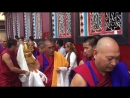Открытие ступы 33го Менри Тризина в монастыре Менри 03.09.18
