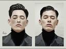 Speedpaint / portrait of a boy / Art / Спидпейнт / парень /портрет / арт (3)