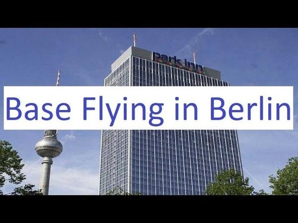 Base Flying 125 Metres Berlin Alexanderplatz