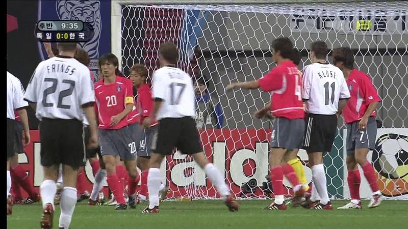 (1080p 60fps) 2002 한일 월드컵 4강 1경기 독일 VS 대한민국 후반전