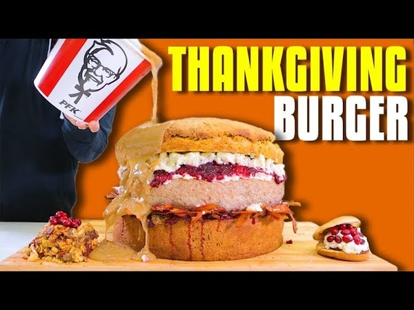 Thanksgiving Burger - Epic Meal Time