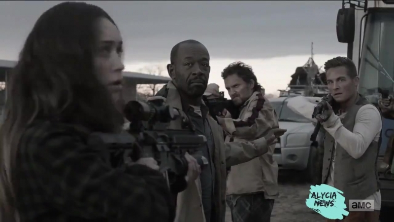 Final 2 minutes with Alicia Clark (Alycia Debnam-Carey) in 4x06 FearTWD